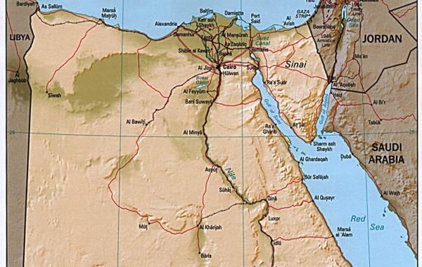 Где находится Египет